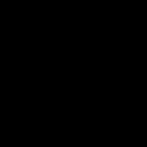 Black working tools icon